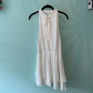 Classy white dress worn once